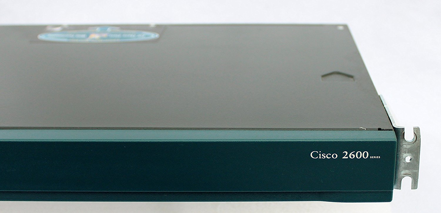 Cisco 2621XM Modular 2600 Series 1U Rack Mountable Router