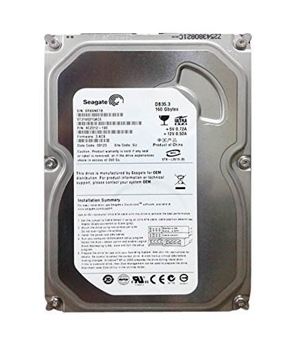 Seagate Internal Desktop Hard Drive (160 GB)