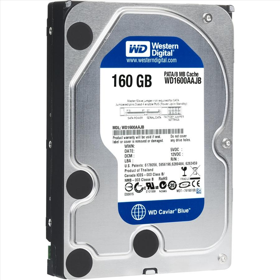 Western Digital BLUE Internal Desktop Hard Drive (160 GB)